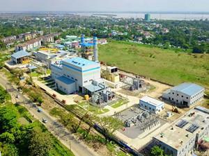中国电建承包的缅甸达吉达循环燃机电站一期项目并网