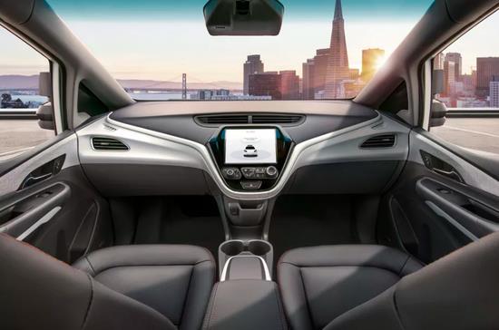 通用汽车发布新一代无人驾驶汽车 没有方向盘踏板