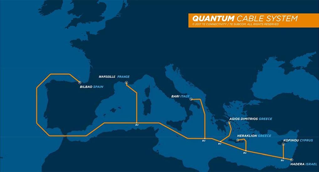 Quantum亚欧海底光缆系统拟于2020年10月投产