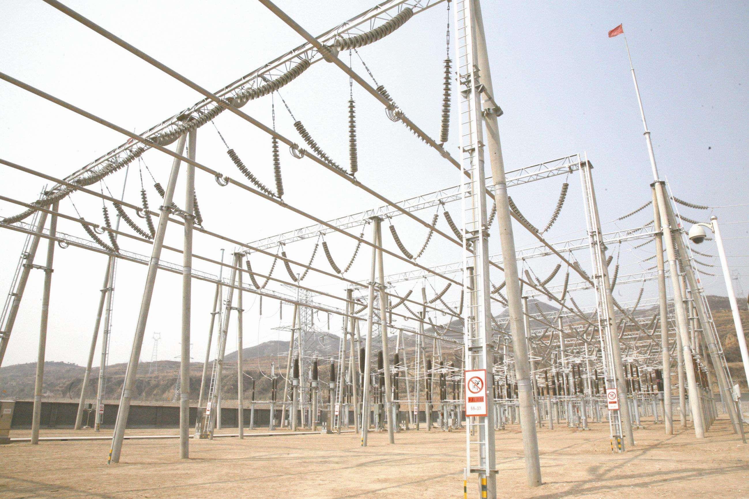 湖南衡阳110千伏和平变电站正式投产送电