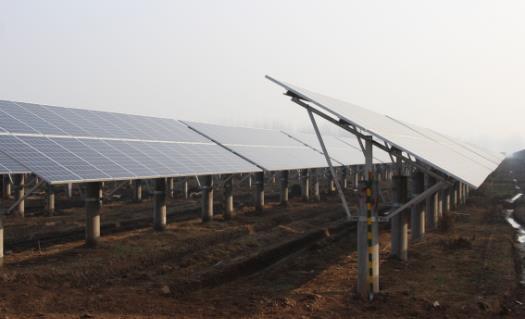 河南鹿邑20兆瓦光伏发电项目正式并网
