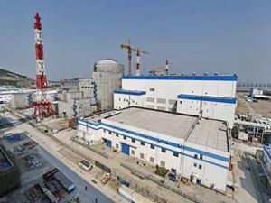 田湾核电站二期工程首台机组正式建成