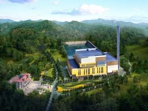 呼和浩特市首个垃圾发电处理厂建成并投入使用