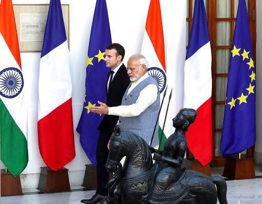 印度和法国同意加强核电及空间技术合作