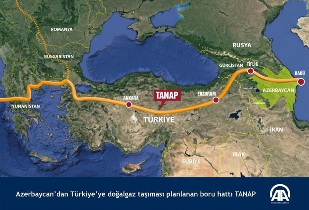 欧洲国际银行为TANAP项目提供9.32亿欧元贷款