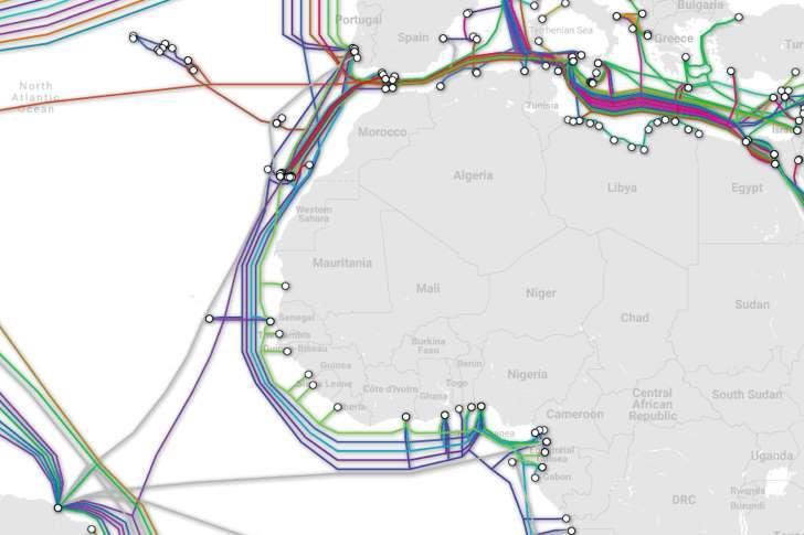 ACE海底光缆系统发生故障 影响西非十几个国家