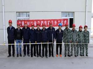 内蒙古杭锦9MW储能调频项目正式启动