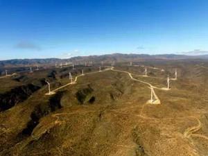 智利蓬塔风电场32台风机吊装工作圆满完成