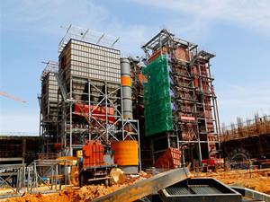 投资5.25亿元阳泉生活垃圾焚烧发电项目加紧建设
