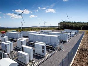 500多个宝马i3电池组构成的储电设施在风电场投入使用