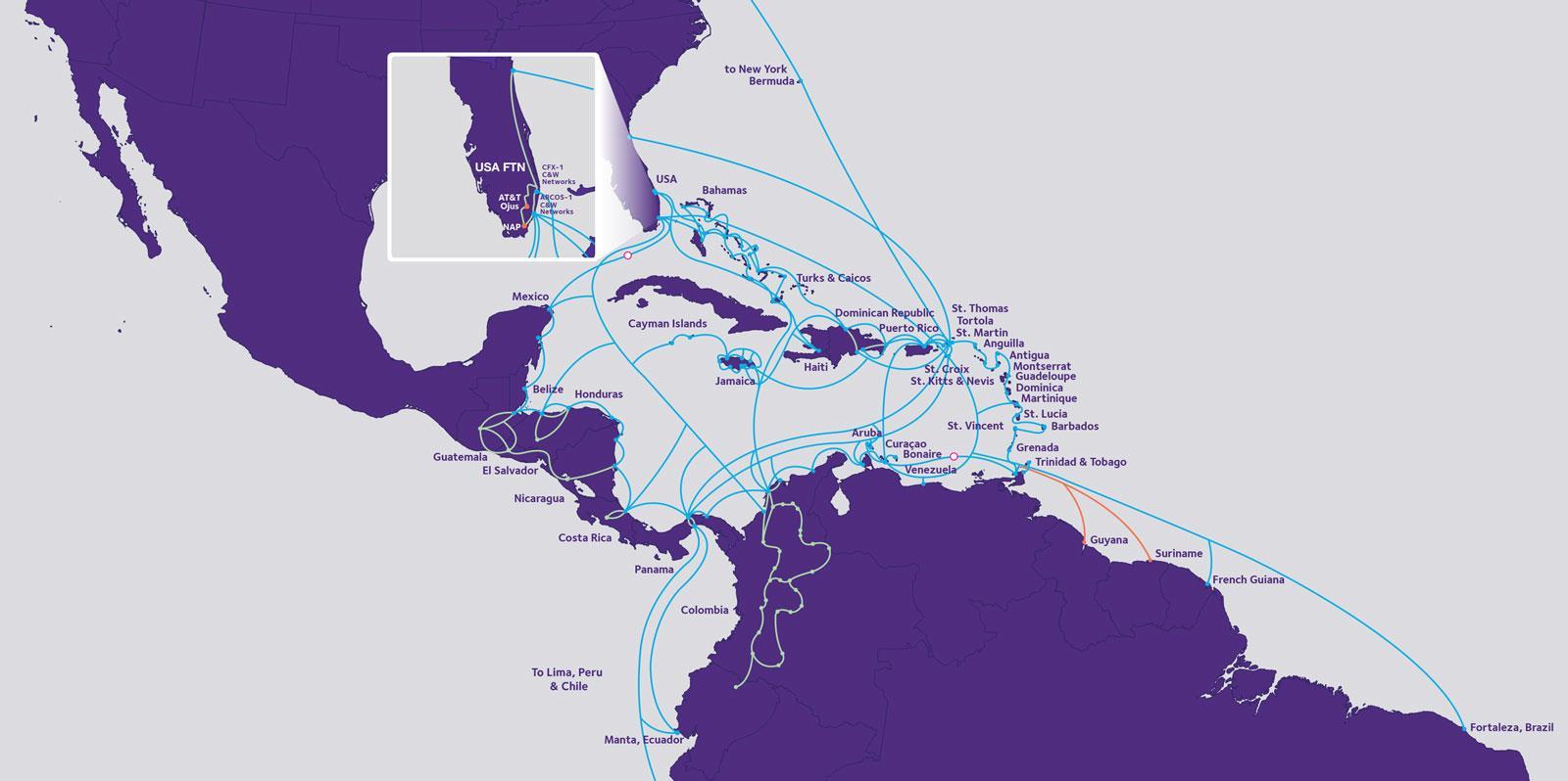 墨西哥25000千米光纤网络招标细则6月中旬发布
