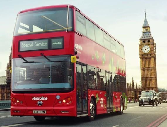 比亚迪赢得首笔伦敦全电动双层巴士订单