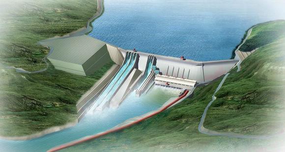 柬埔寨桑河二级水电站5号机组正式投产发电