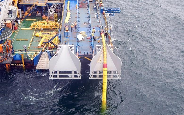 丹麦-德国互连线路已部署所需海底电缆