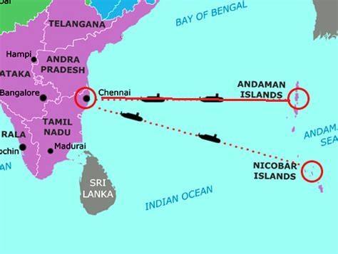 日本NEC承建金奈-安达曼和尼科巴群岛海缆系统