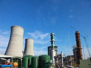 大唐国际金坛燃机热电联产工程1号锅炉水压试验成功