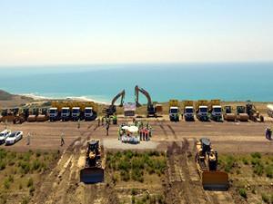 上海电力投资的土耳其胡努特鲁燃煤电厂项目正式开工