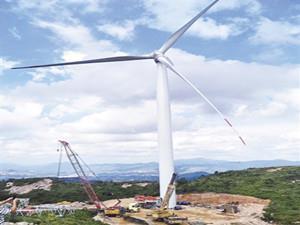 福建漳平红尖山风电场年底将建设完成投产