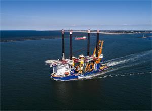 Aeolus助力比利时打造最大海上风电项目