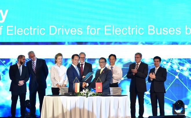 越南Vinfast与西门子合作制造电动公交车