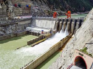 中国能建广西万家口子水电站1号机组顺利完成试运行