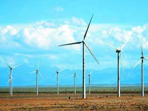 西北水电都兰金水口东风电场50兆瓦工程成功并网发电