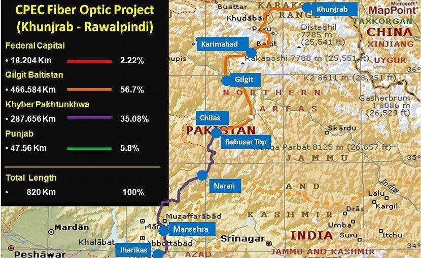 中国-巴基斯坦光缆系统拟于今年底投运