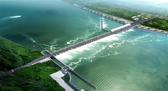 中国能建葛洲坝与印尼签署了300兆瓦水电站EPC合同