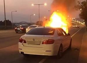 韩国两天之内再添两起宝马汽车起火事件