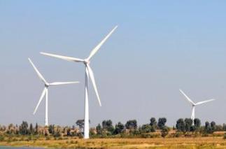 德州市陵城区首个风力发电项目并网发电