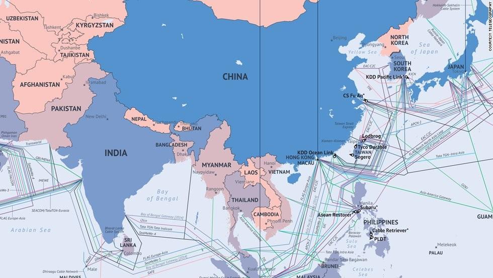 到2023年全球海底电缆系统规模将达209亿美元