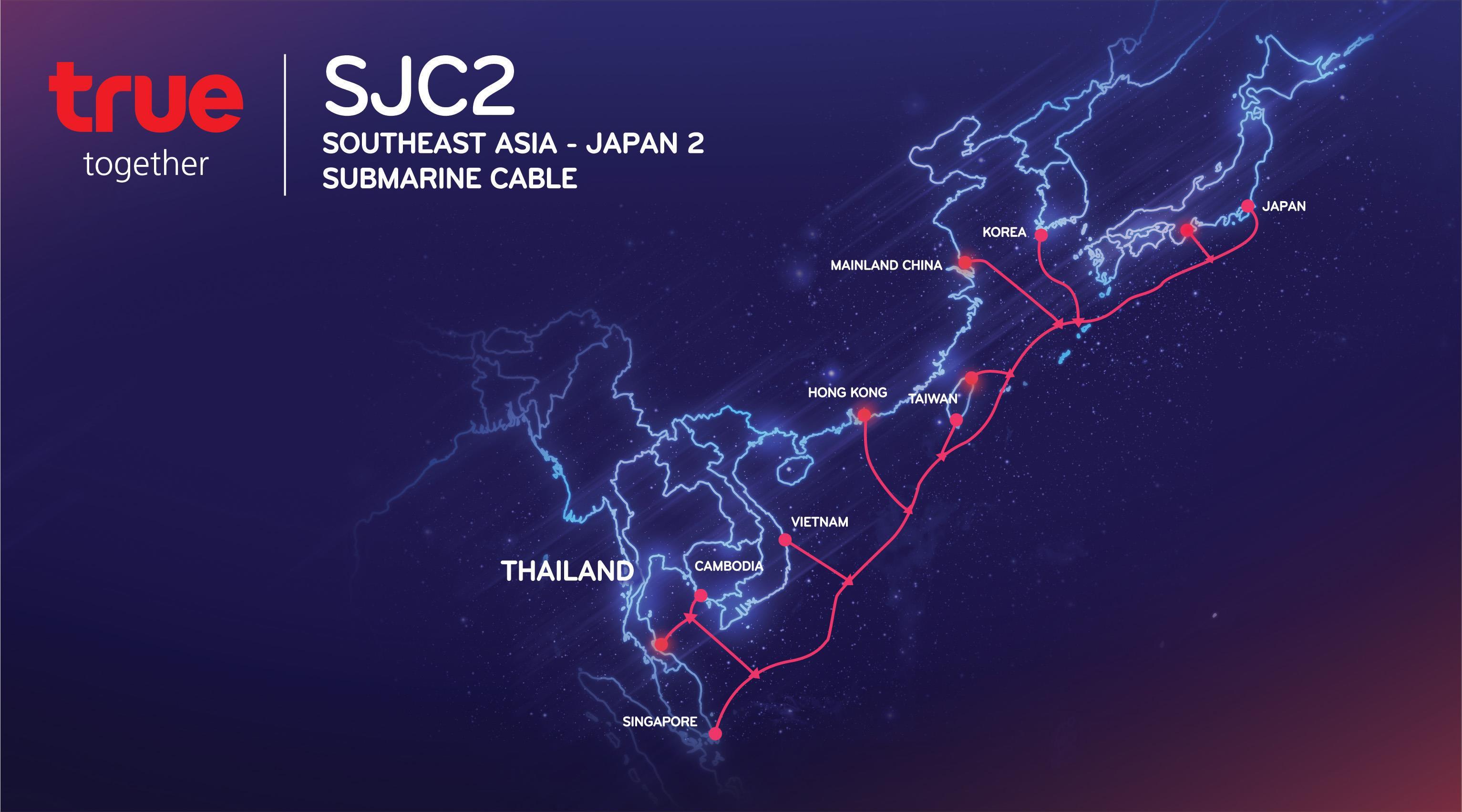 SJC2海底光缆系统越南段将在归仁登陆