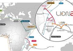 非洲海底光缆系统肯尼亚段LION2发生故障