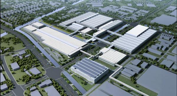 上汽大众首个新能源汽车工厂开工