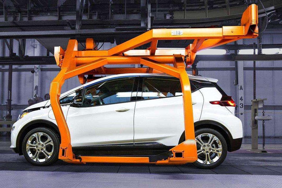 通用美国市场电动汽车总销量达20万辆 紧追特斯拉