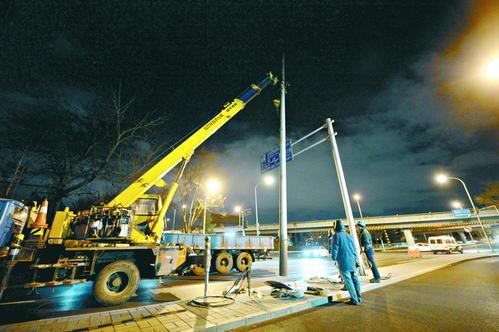 北京核心区主次干路电力架空线入地工程完工
