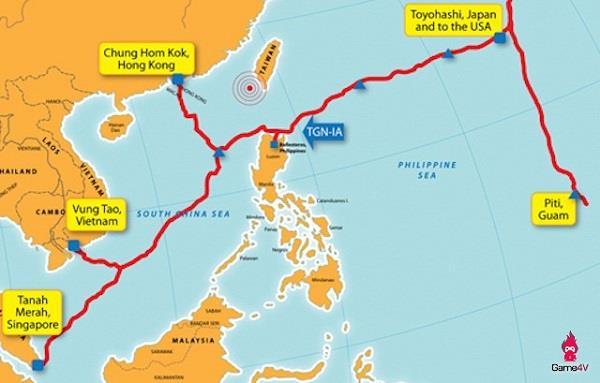 TGN-IA海底光缆系统新加坡-越南段发生故障