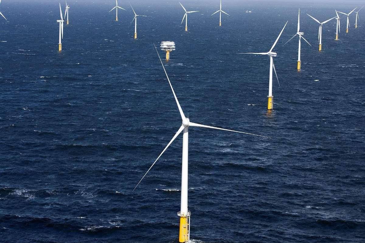 我国北方地区首个海上风电项目规模化投入商业运行