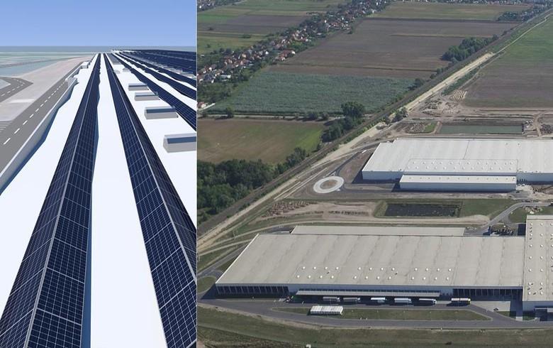 德国意昂为奥迪建欧洲最大屋顶太阳能电站