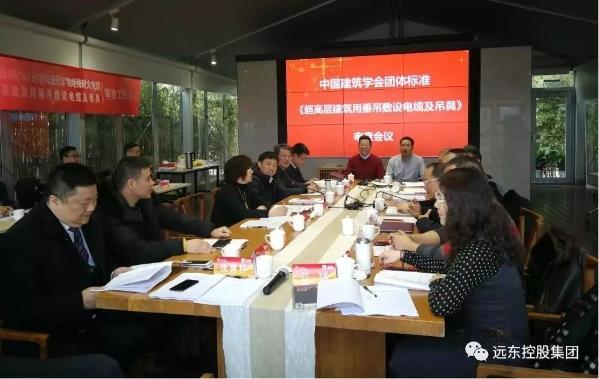 远东主编的两项团体标准审查会议于上海成功召开