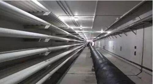 苏通特高压长江综合管廊隧道轨道工程完工
