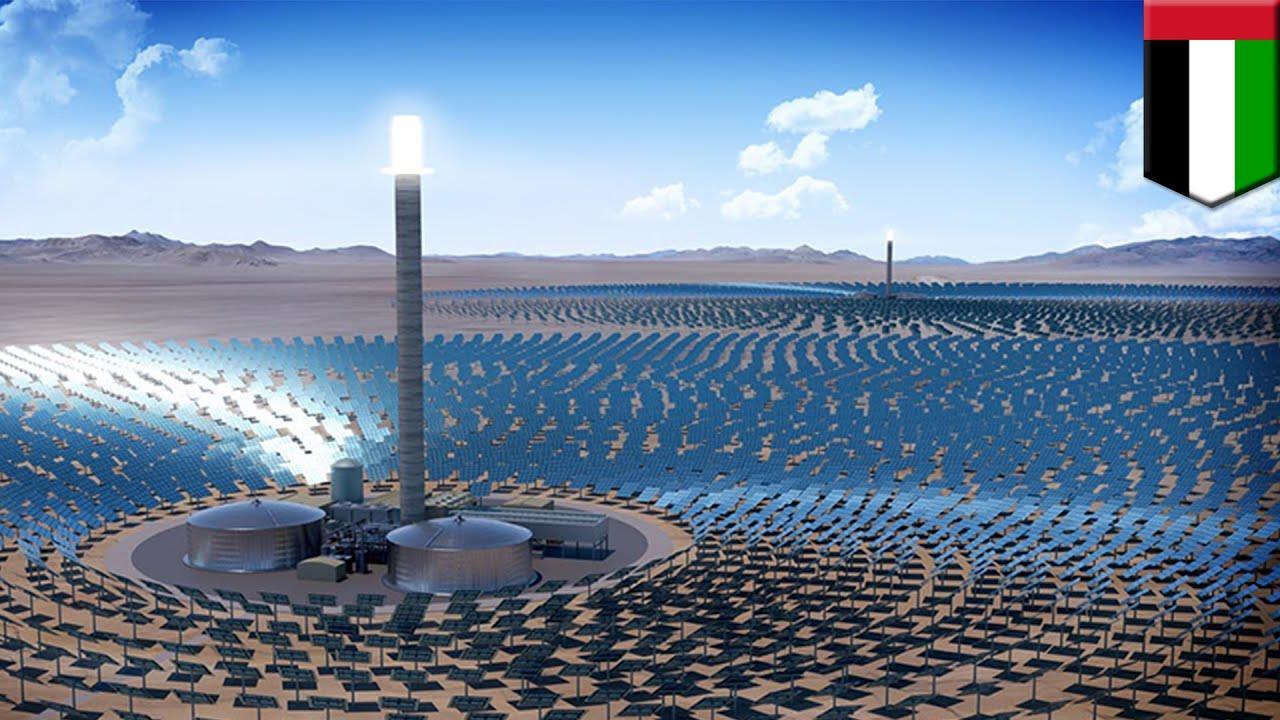 迪拜太阳能公园项目启动第五阶段900兆瓦招标程序