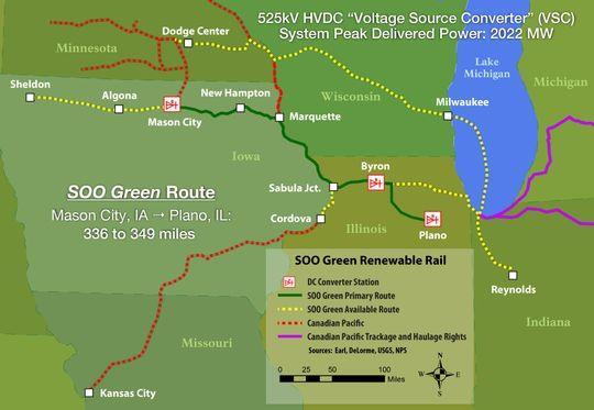 美企拟建2.1GW地下高压输电线路消纳风电