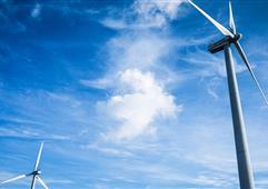 天津市首个分布式风电项目并网发电