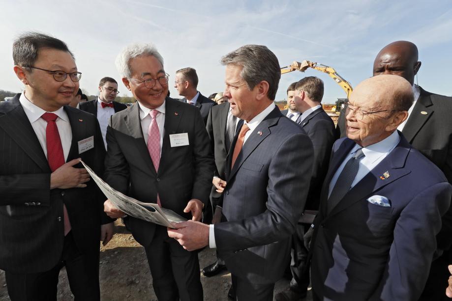 韩国SK Innovation美国大型电池生产厂破土动工