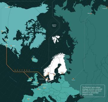 亚马逊接入美国-挪威海底光缆系统