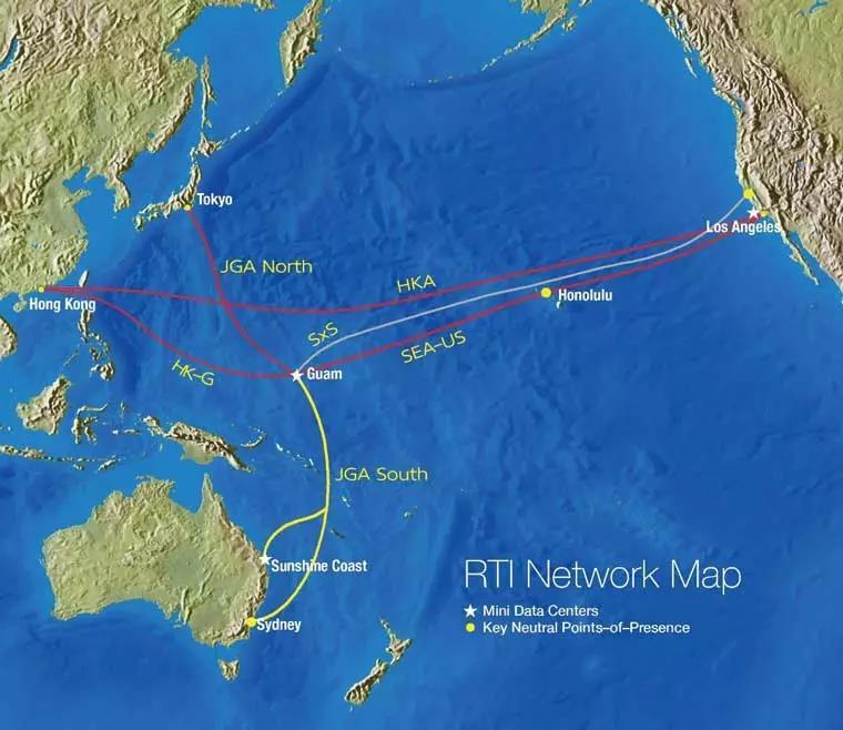 日本-关岛-澳洲海底光缆系统有望于年底投产