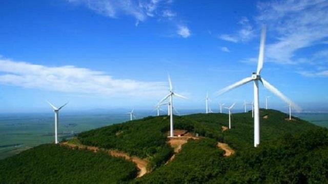 福建宁化鸡公岽48兆瓦风电项目全面并网发电