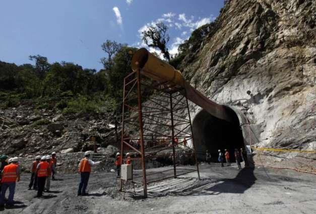 山体滑坡致17名工人被困尼泊尔一水电站隧道