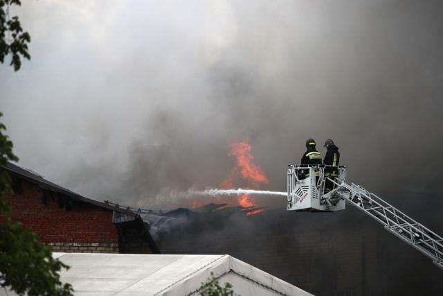 俄罗斯紧急情况部:莫斯科州热电站大火已被扑灭